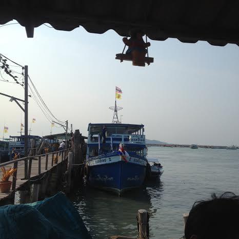 koh samet ferry.