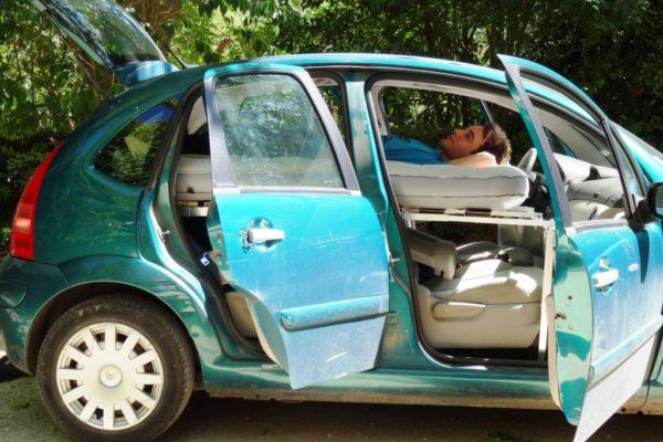 BED CAR VOITURE OUVERTE