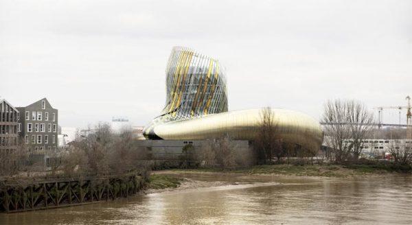 Cité du vin. Garonne. Bordeaux