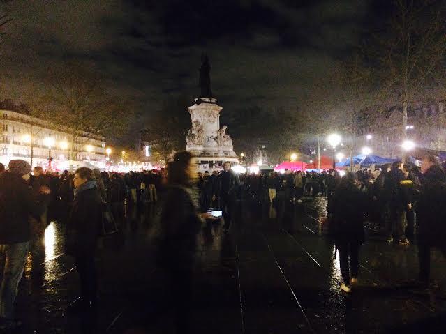 Nuit Debout. Place de la République.