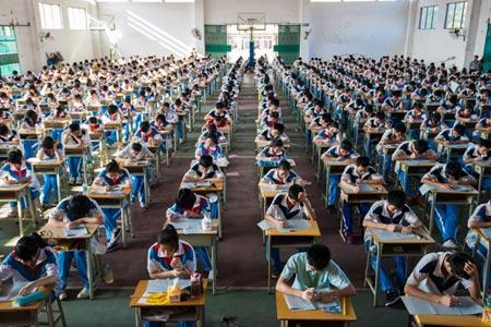 gaokao. examen. Chine.