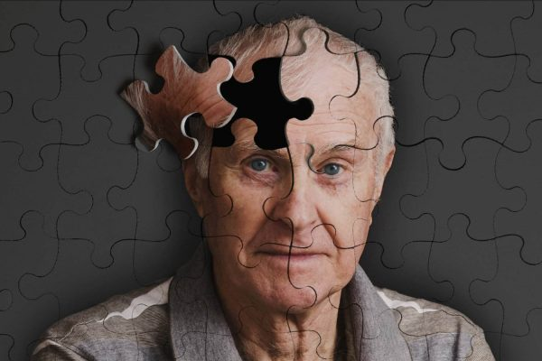 Alzheimer. la femme Qui Marche.