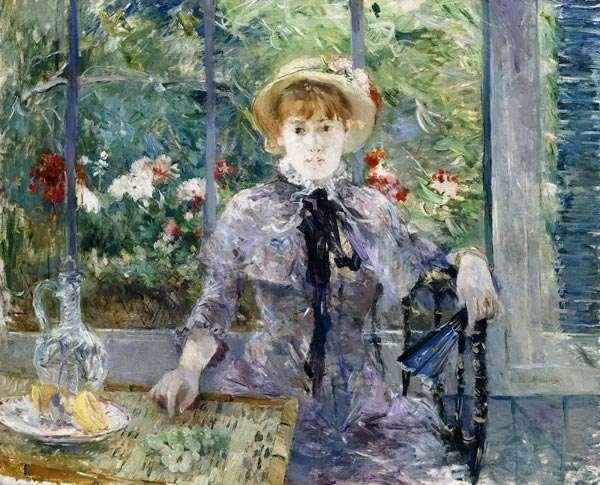 Berthe Morisot. Après le déjeuner.