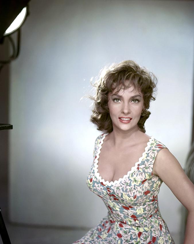 Gina Lollobrigida. 1961.