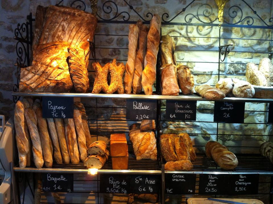 Montpellier. Des rêves et du pain. Boulangerie.