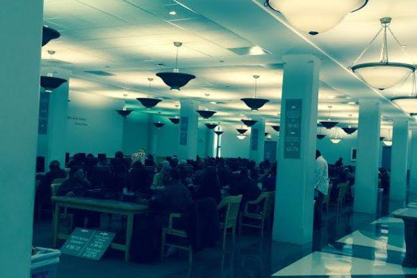 Bibliothèque Chicago. Salle réservée.