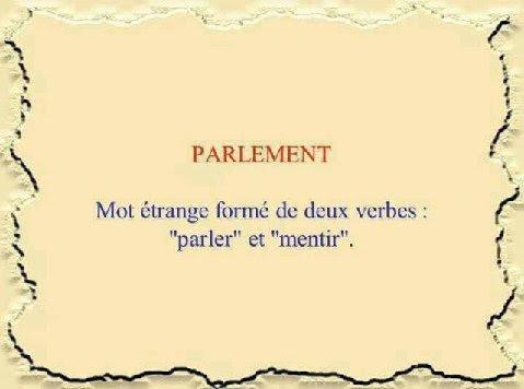 parlement.