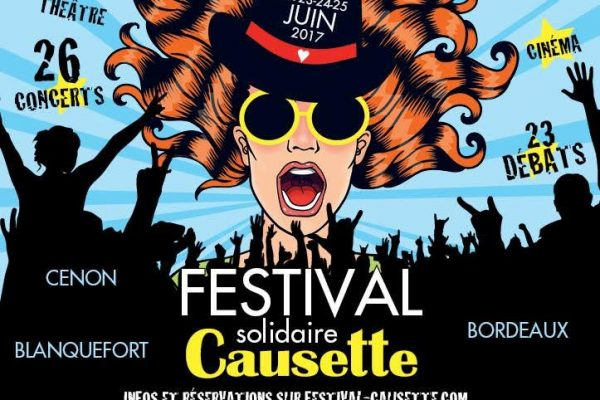 bordeaux : causette fait son festival du 22 au 25 juin.