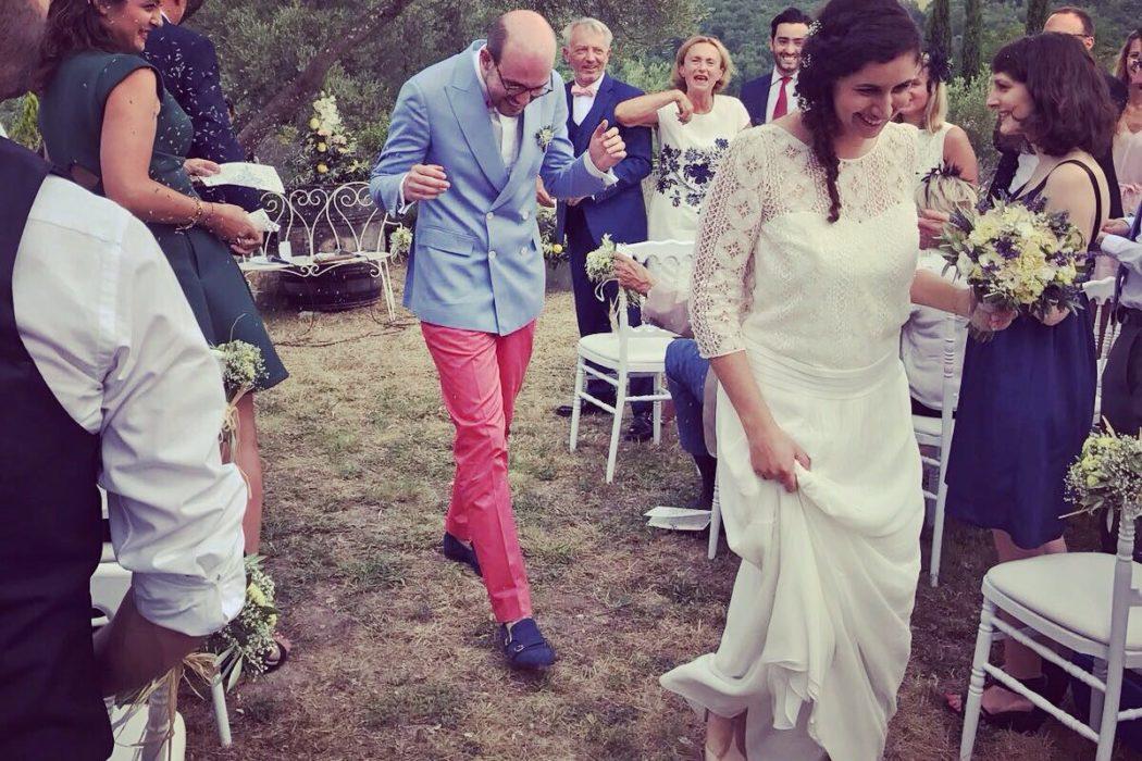 mariage Bogdan Rousset et Chloé Vicente