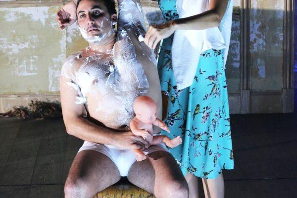 agatha, de marguerite duras, mis en scène hans peter cloos. café de la danse. inceste
