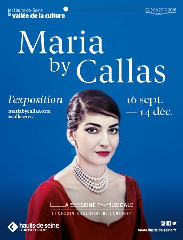 maria by callas. Affiche.