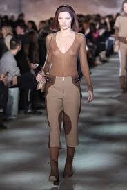 seins nus fashion week new york.