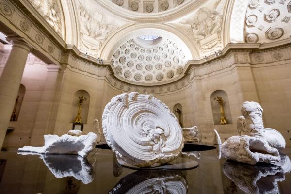simone pheulpin. sculpteur-textile. chapelle expiatoire. paris.
