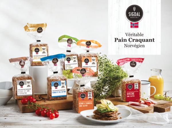 Gamme Pain Norvégien Sigdal Bakeri