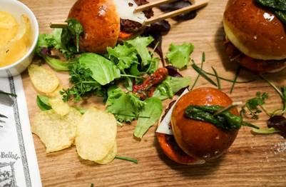 burger Ibérico bellota bellota