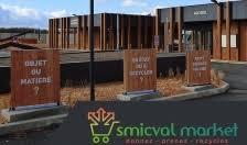 smicval market. une déchetterie moderne : on apporte ou on prend.