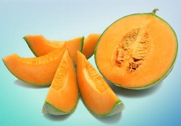 melon-du-haut-poitou découpé.
