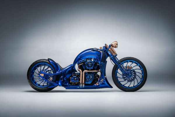 Moto Harley-Davidson Blue Editions