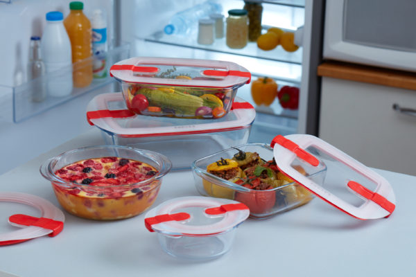 pyrex®. cook&heat. cheese cake master set. 2 nouveautés.