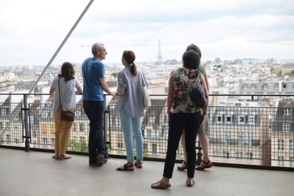 centre pompidou. visite privée avant l'ouverture. airbnb