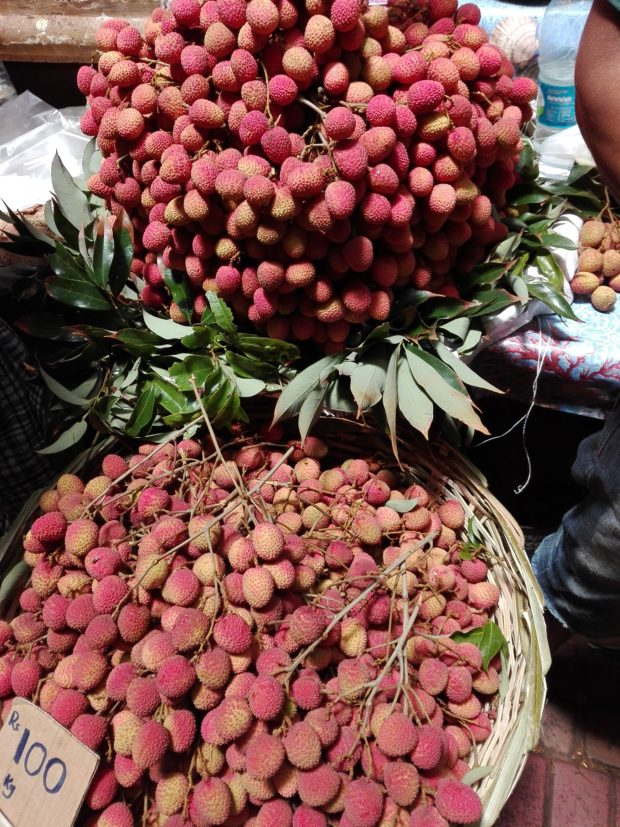 Marché de Port Louis. Ile Maurice
