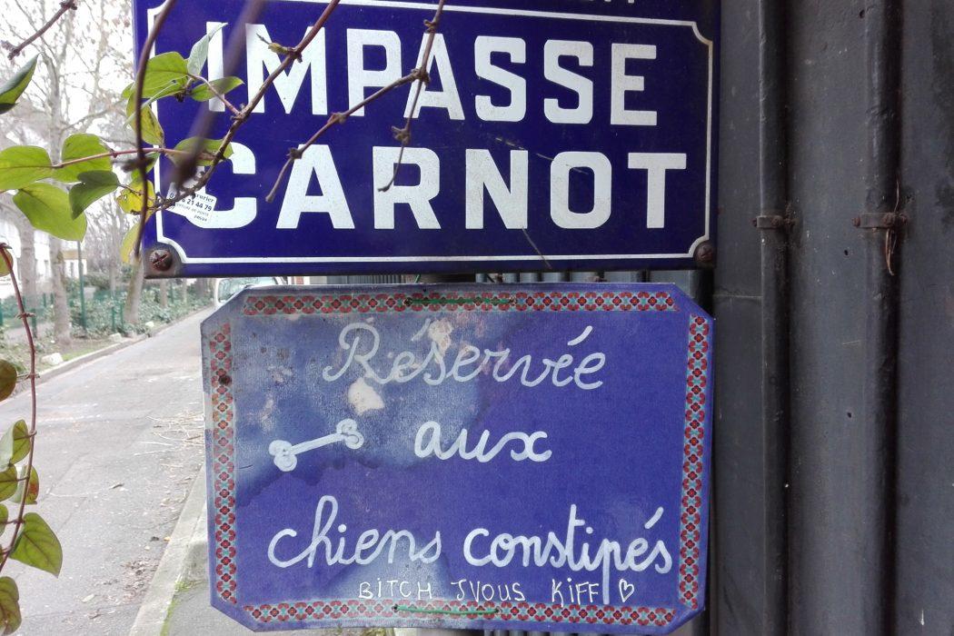 La Femme Qui Marche. Malakoff. IMG_20181228_123824