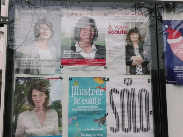 La Femme Qui Marche. Malakoff.IMG_20181228_143952