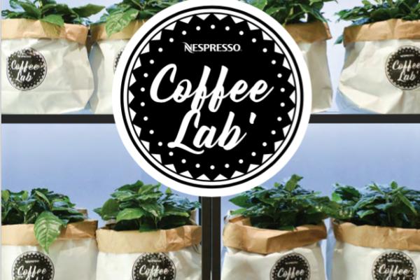 nespresso coffee lab. pop up sensoriel autour du café les 23 et 24 Mars.