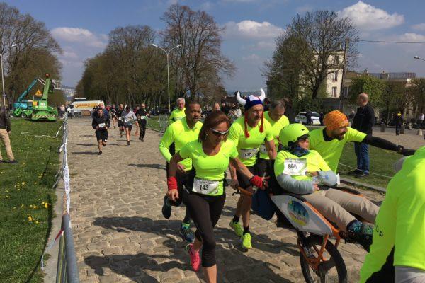 la course à pied : 500 euros en moyenne par an.