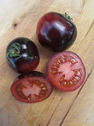 tomate Indigo Rose. La Femme Qui Marche