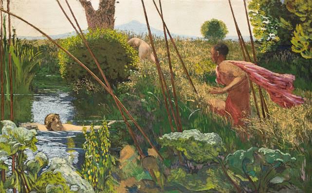 Ker-Xavier Roussel. Musée des impressionnismes. La Femme Qui marche.i