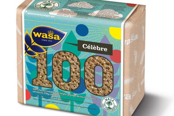 wasa célèbre les 100 ans de ses tartines croustillantes