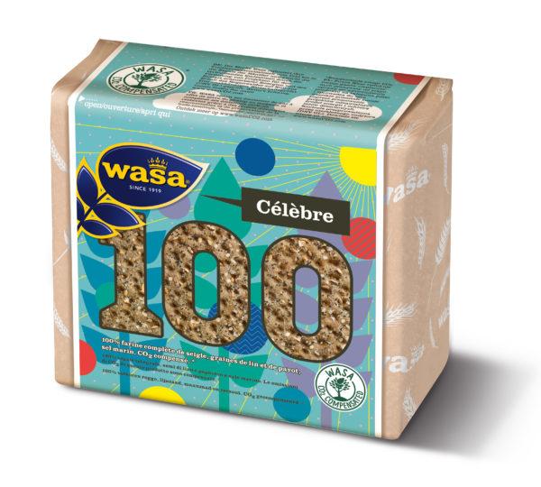 Wasa 100 ans. la femme Qui Marche