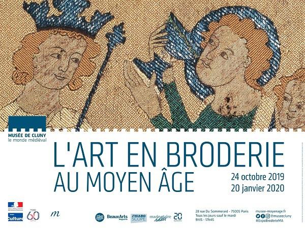 Musée de Cluny : l'art de broder au Moyen-Age
