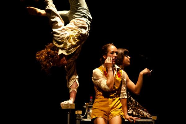 la nuit du cerf. le cirque le roux. un talent fou et des virtuoses de la voltige.
