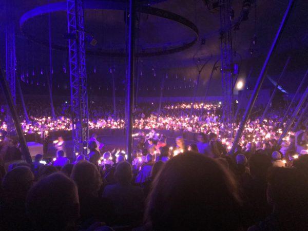 messe de Noël. Cirque Gruss. Crédit photo La femme Qui Marche. Iwane Rousset