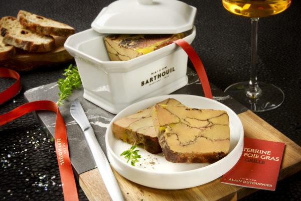 alain dutournier. maison barthouil. foie gras grillé.