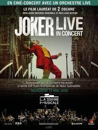 Joker. Ciné concert à la Seine Musicale.