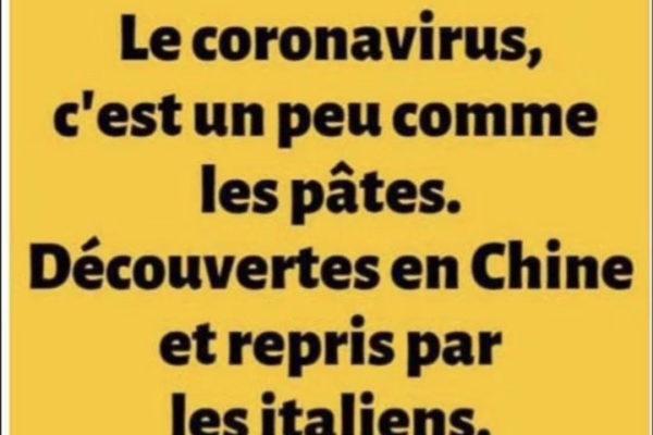 coronavirus. covid-19. italie. garder son sens de l'humour.