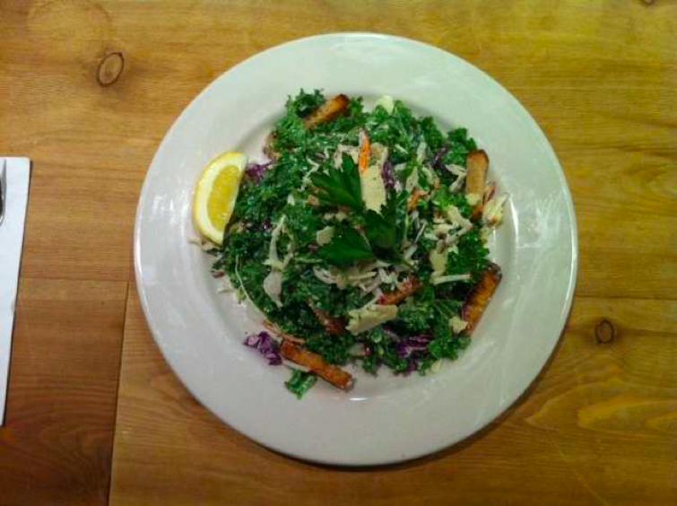 kale salade le pain quotidien