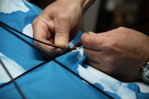 réparation des baleines du parapluie