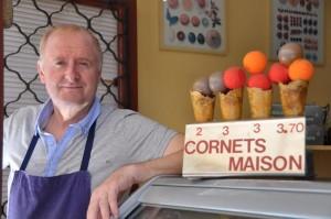 Moulleau délices glacés Michel Loubinaud