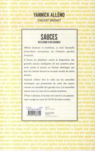 Alleno Yannick. Sauces.Hachette.