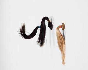 Pony tails. Mika Rottenberg. Andrea Rosen Gallery.