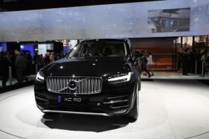 Volvo Salon de l'auto. CX 90