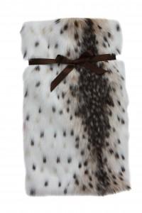Bouillotte de Béa. Lynx fausse fourrure.