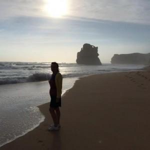 great ocean road. Isabelle Monrozier. 12 apôtres