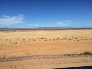 ghan. Outback. désert