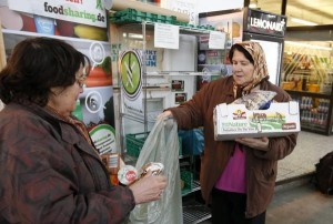 foodsharing. Frigidaire libre service