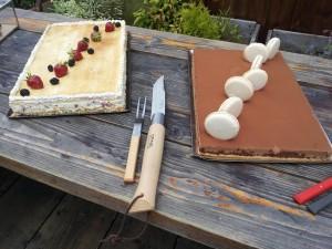 Opinel 125 ans gâteau.